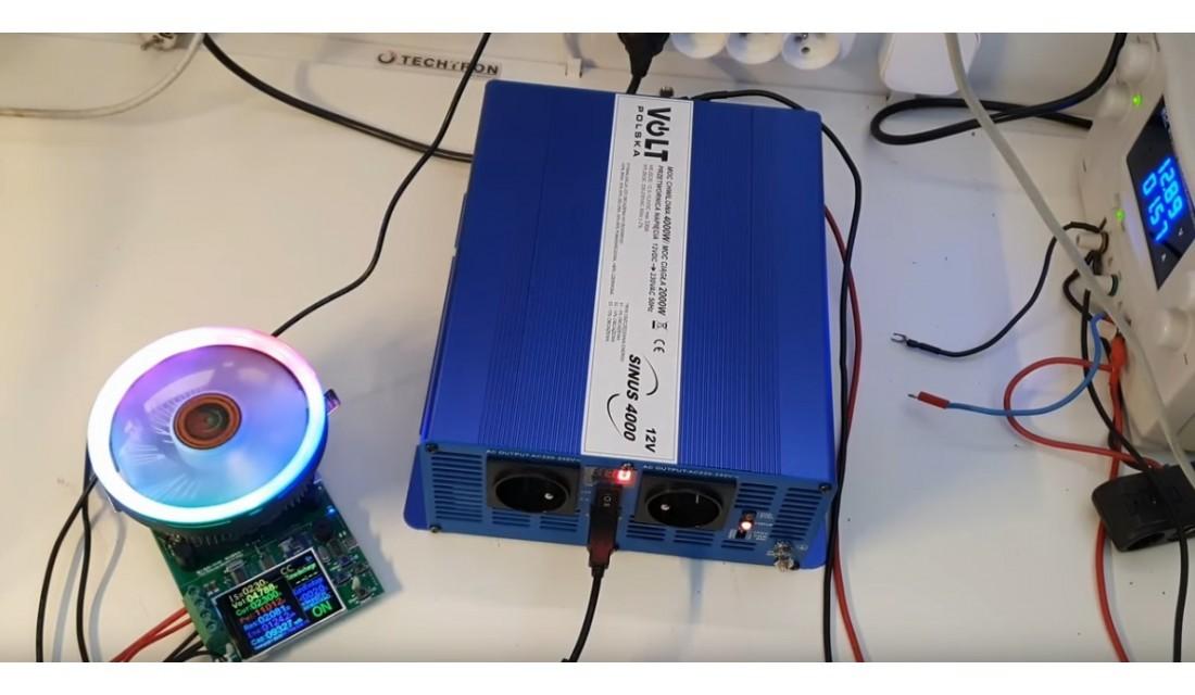 SINUS ECO 4000 12V - Większa moc